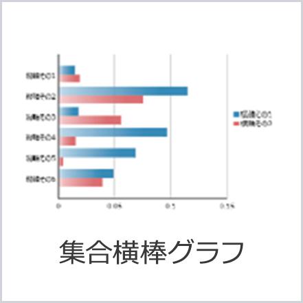 集合横棒グラフ