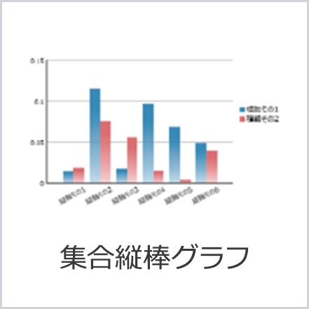 集合縦棒グラフ